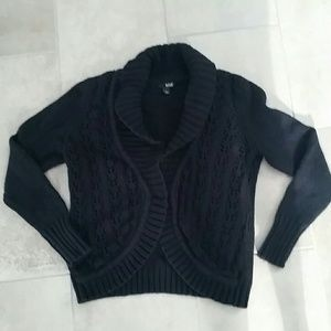 Like new black sweater cardigan